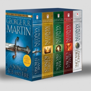 GAME OF THRONES :5 COPY BOXED SET